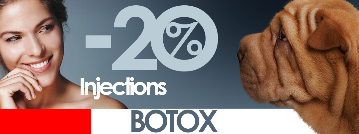 Botox injections - 20%